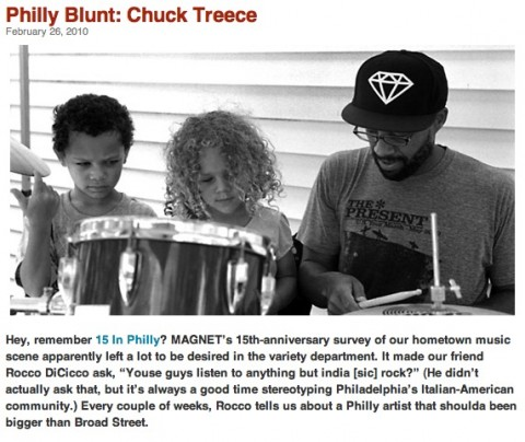 Chuck Treece on Magnet