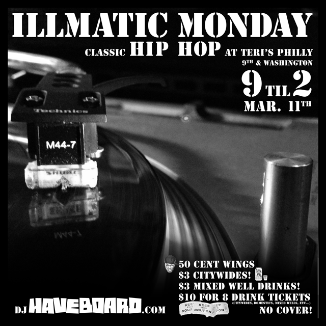 illmatic monday march 11th