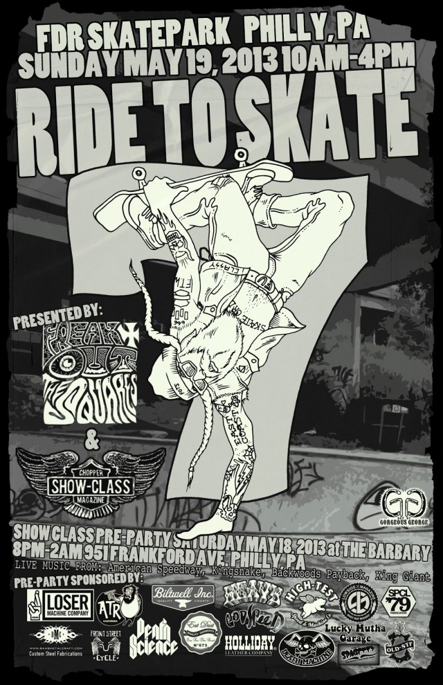 ride to skate 2013