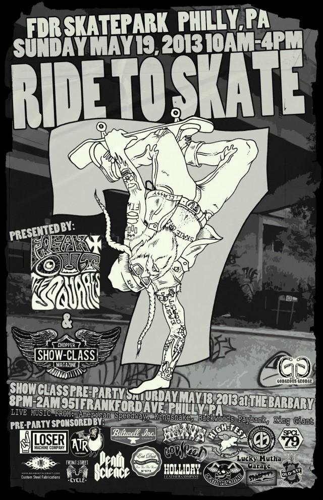 ride to skate 2013