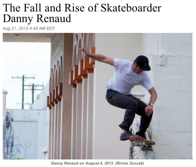 fall & rise of Danny Renaud