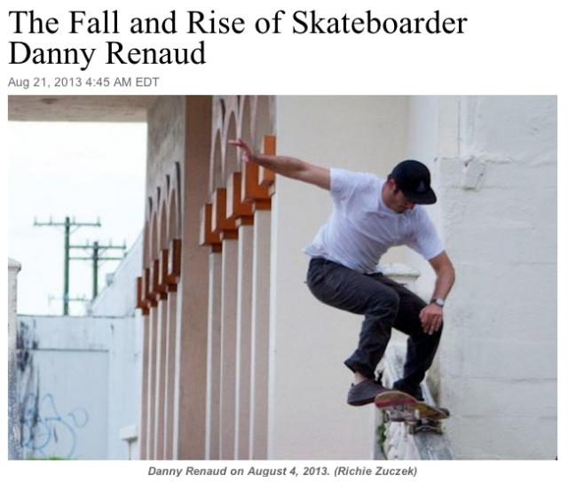 fall & rise of Danny Renaud